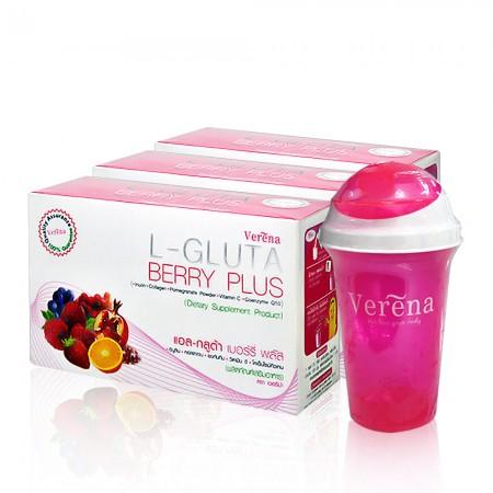 l gluta berry plus set 1 แอล-กลูต้า เบอร์รี่ พลัส เซต 1