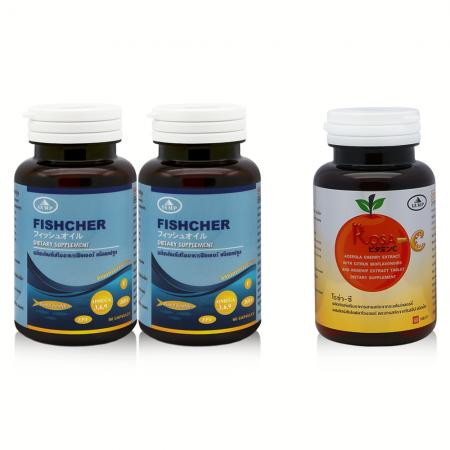 Fishcher Oil 2แถม Rosa C 1