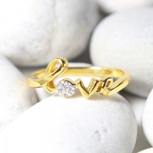 The Word Of Love Ring