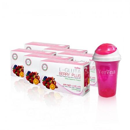 L-Gluta Berry Plus Set 2 (แอล-กลูต้า เบอร์รี่ พลัส เซต 2)