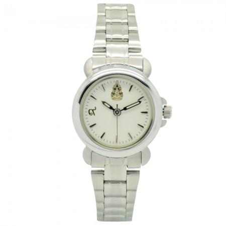 นาฬิกาข้อมือสแตนเลสหญิง ผลิตขึ้นเนื่องในโอกาสครองราชย์ครบรอบ 60 ปี พ.ศ.2549