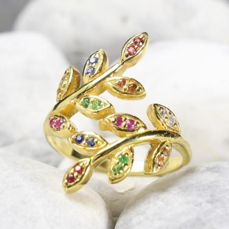 Wish Ring  แหวนดีไซน์ใบมะกอก