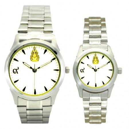 นาฬิกาข้อมือสแตนเลส ชุด3 ผลิตขึ้นเนื่องในโอกาสครองราชย์ครบรอบ 60 ปี พ.ศ.2549