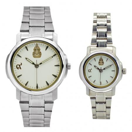นาฬิกาข้อมือสแตนเลส ชุด2 ผลิตขึ้นเนื่องในโอกาสครองราชย์ครบรอบ 60 ปี พ.ศ.2549